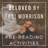 Beloved by Toni Morrison - Pre-Reading Tea Party Anticipat