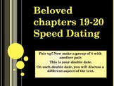 Beloved by Toni Morrison chapters 19-20 speed dating activity