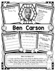 Ben Carson Research Organizers for Black History Month