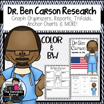 Ben Carson {Biography Research Report, Black History Month}