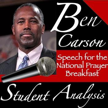 Ben Carson's Speech at the National Prayer Breakfast: Student Analysis