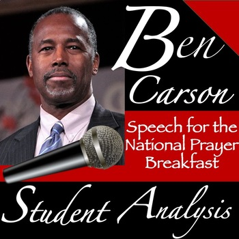 Ben Carson's Speech at the National Prayer Breakfast: Student Analysis