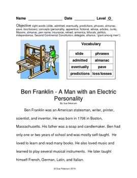 Ben Franklin - A Man with an Electric Personality