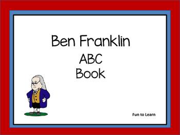 Ben Franklin    ABC Book