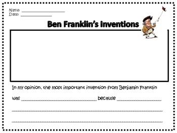 Ben Franklin Activity Packet