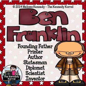 Ben Franklin Timeline {Booklet and Timeline Activity}