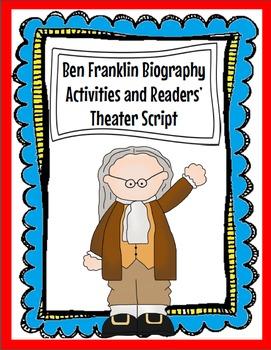 Ben Franklin Biography Activities and Readers' Theater