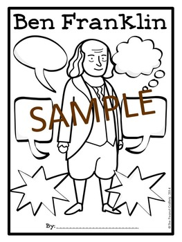 Ben Franklin Graphic Organizers