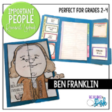 Ben Franklin Important People Research Lapbook