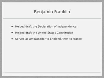 Ben Franklin PPT