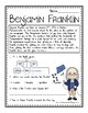 Ben Franklin Reading Passage