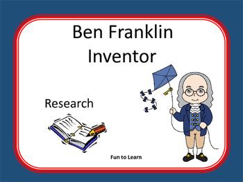 Ben Franklin ~ Research