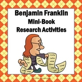 Ben Franklin Research Activities Mini-Book Project Common Core