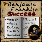 Ben Franklin Success Hands-On Activity