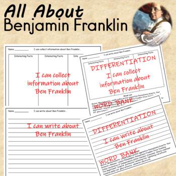 Ben Franklin Unit Activities