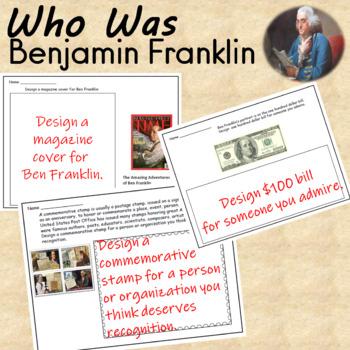 Ben Franklin Unit Activities and Worksheets