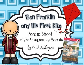 Ben Franklin and His First Kite Fry Phrases- Reading Street