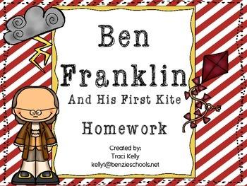 Ben Franklin and His First Kite Homework - Scott Foresman 1st Grade