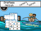 Prefixes {re & un} Simple Centers and Games