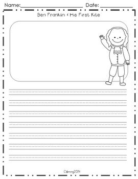Ben Franklin and His First Kite : Reading Street : Grade 1