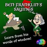 Ben Franklin's Sayings