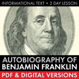 Ben Franklin's Autobiography, Informational Text, Franklin Aphorisms, 13 Virtues