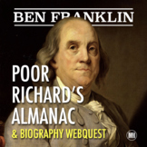 BEN FRANKLIN: Wit & Wisdom of Poor Richard's Almanac
