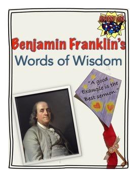 Ben Franklin's Words of Wisdom