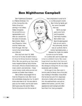 Ben Nighthorse Campbell (Lexile 710)