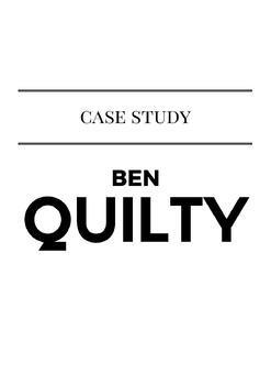 Ben Quilty Case Study Template