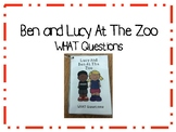 Ben and Lucy At The Zoo - Simple WHAT Questions