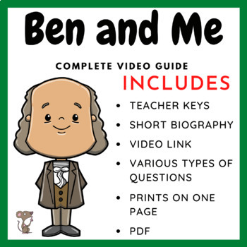 Ben and Me - Complete Video Guide and Biography