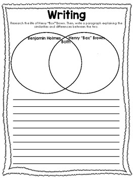 Ben and the Emancipation Proclamation Worksheets