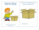 Ben's Box-Interactive/Adapted /B/ Book