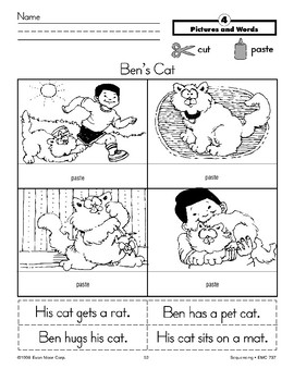 Ben's Cat (Pictures and Words)