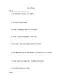 Ben's Tune Book Quiz