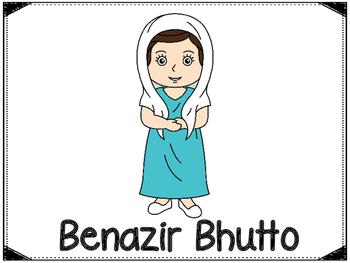 Benazir Bhutto Graphic Organizers