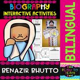 Benazir Bhutto - Interactive Activities - Dual Language