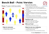 Bench Ball - 2 Versions - PE Invasion Game