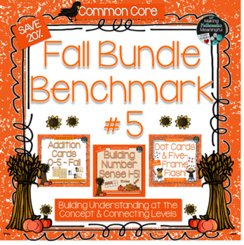 Benchmark #5 a Bundled Fall-Themed Resource