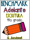 Benchmark Adelante 4th GRADE Writing PROMPTS Units 1-10