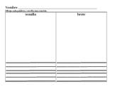 Benchmark Adelante Escritura suplementaria Unidad 3