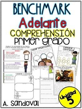 Benchmark Adelante FIRST GRADE UNIT 5 Comprehension Sheets