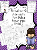 Benchmark Adelante First Grade Phonics, HFW and Spelling Resources Unit 7