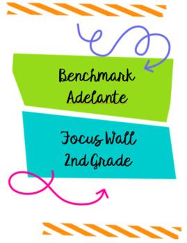 Benchmark Adelante Focus Wall 2nd Grade