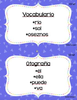 Benchmark Adelante Focus Wall Kindergarten