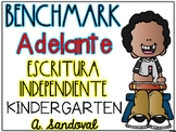 Benchmark Adelante KINDERGARTEN Writing Journals Units 1-10