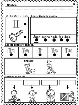 Benchmark Adelante Kindergarten Morning Work Unit 10 (Spanish)