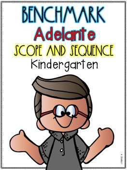 Benchmark Adelante Scope and Sequence for KINDERGARTEN