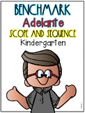 Benchmark Adelante Scope and Sequence for KINDERGARTEN